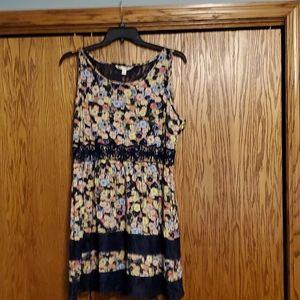 Lauren Conrad floral dress, size 18